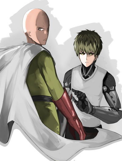 One-Punch Man by Fitz2013