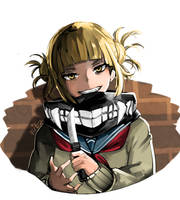 Toga Himiko by Fitz2013