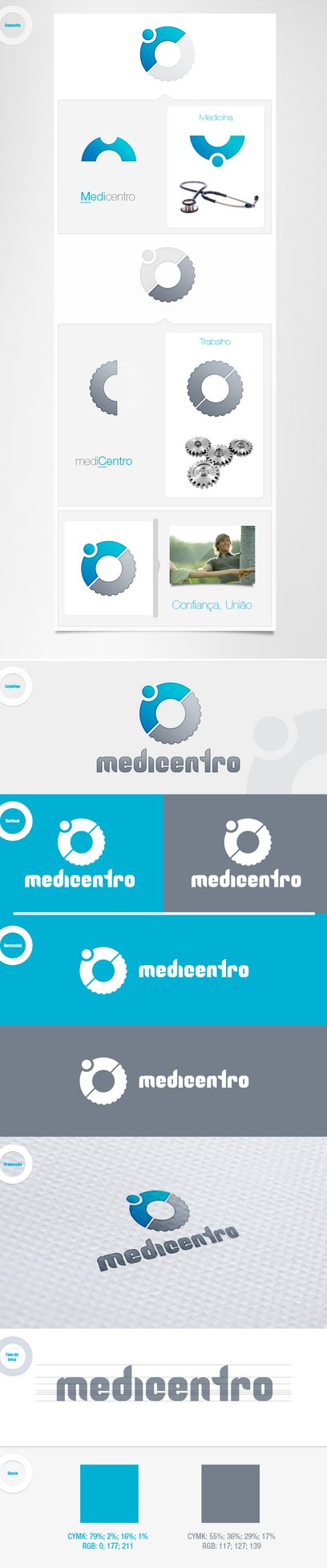 Medicentro 3 logo by devzign
