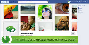 FREE - Photoshop - Customizable Facebook Profile
