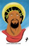Jesus by DemuzArt