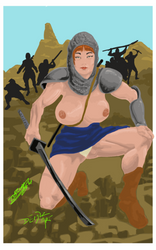 ninja gal 2.1 by DemuzArt