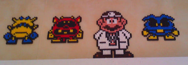 Dr Mario Beads by Inge1607