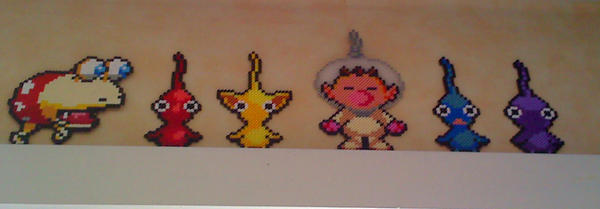 Pikmin Beads by Inge1607
