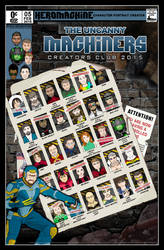 Heromachine Creators Club Poster 2015 by MadJack-S