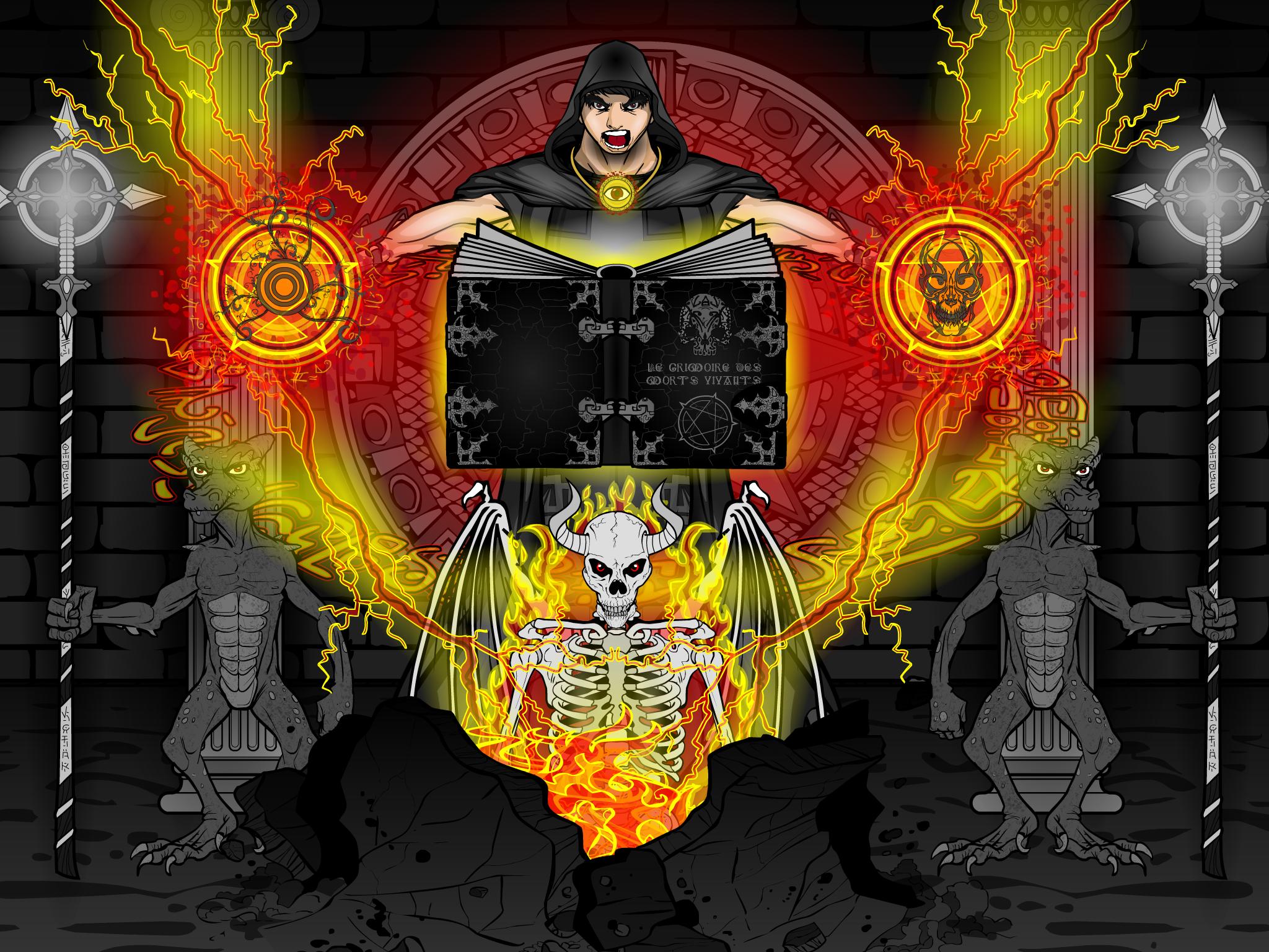 Dark Mage - The Summoning
