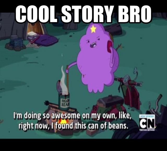 Cool Story Bro by dinochickrox