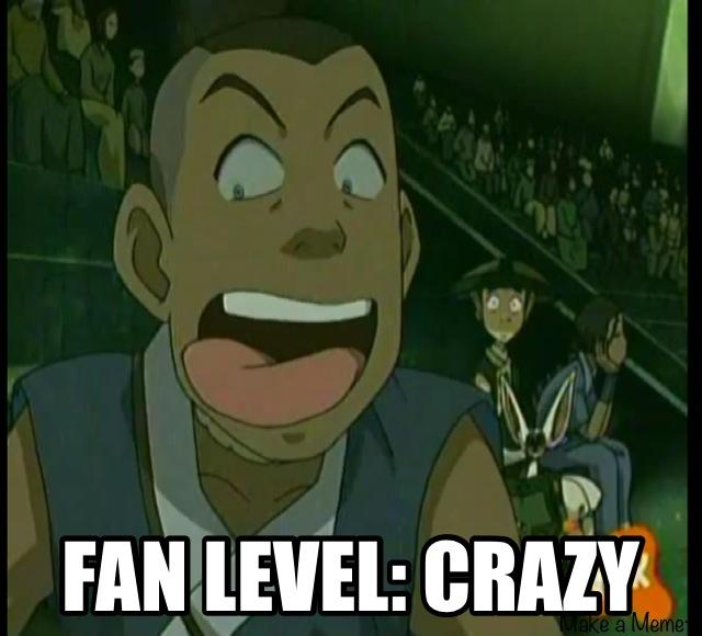 Fan Level by dinochickrox