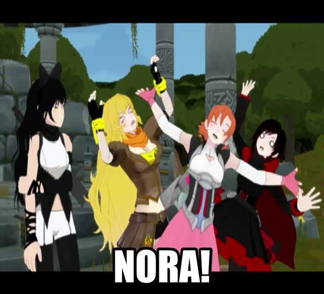 RWBY Nora! by dinochickrox