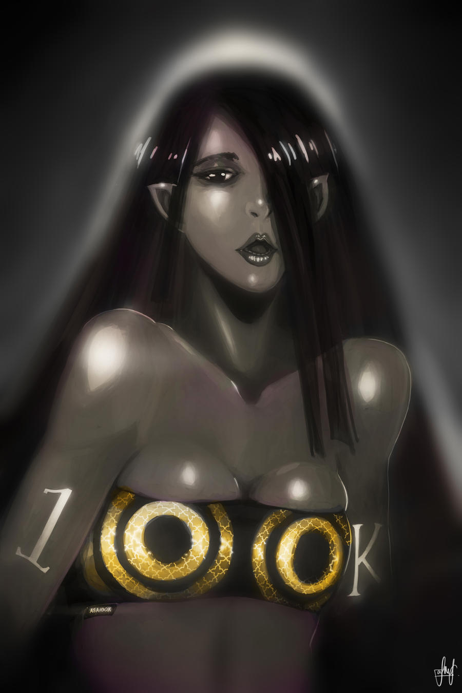 ASA 100K: The sexy elf by Shiro169