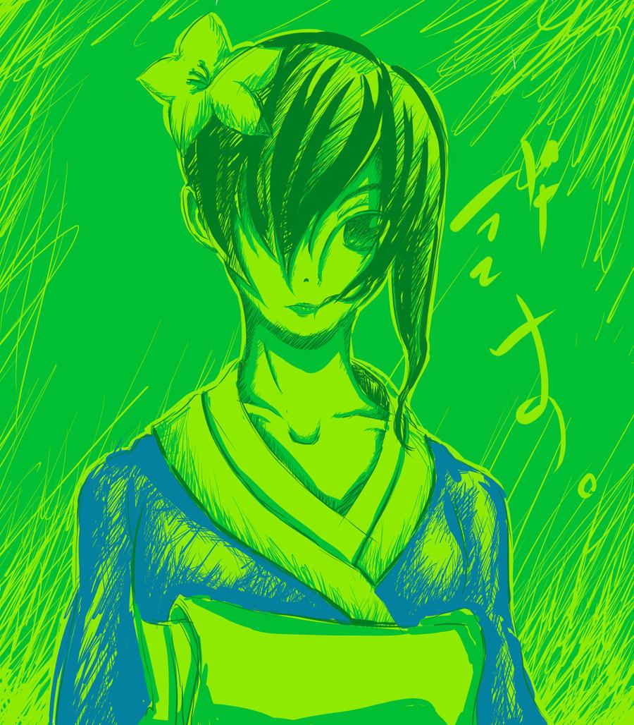 Lady Kimono 01 by Shiro169