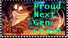 Proud Next Gen Crash Stamp by InsaneStar7