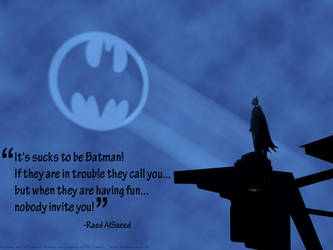It's sucks to be Batman by falsafat