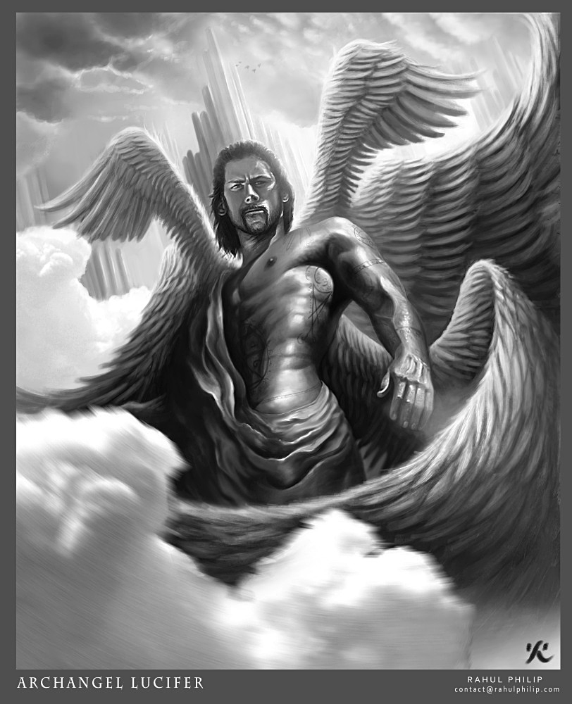 Fall Of Lucifer: Archangel Lucifer By Latent-talent On DeviantArt