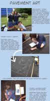 Pavement Art 2009: The Process by its-synixx