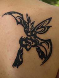 Scyther Tattoo by bsgk