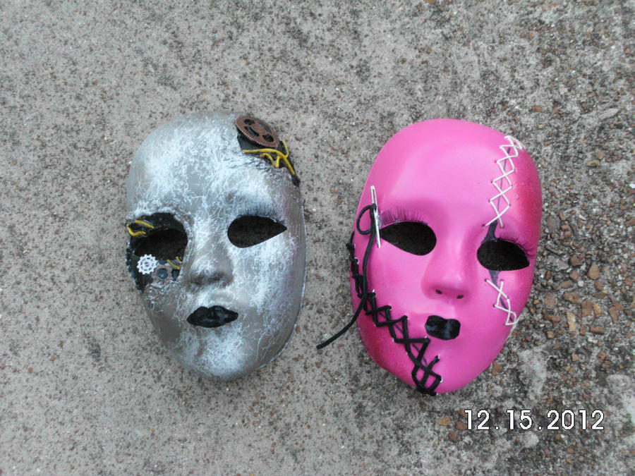 Our Hollywood Undead Masks by HUKissy on DeviantArt