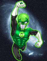 The Green Lantern Mask by atomskmaster6