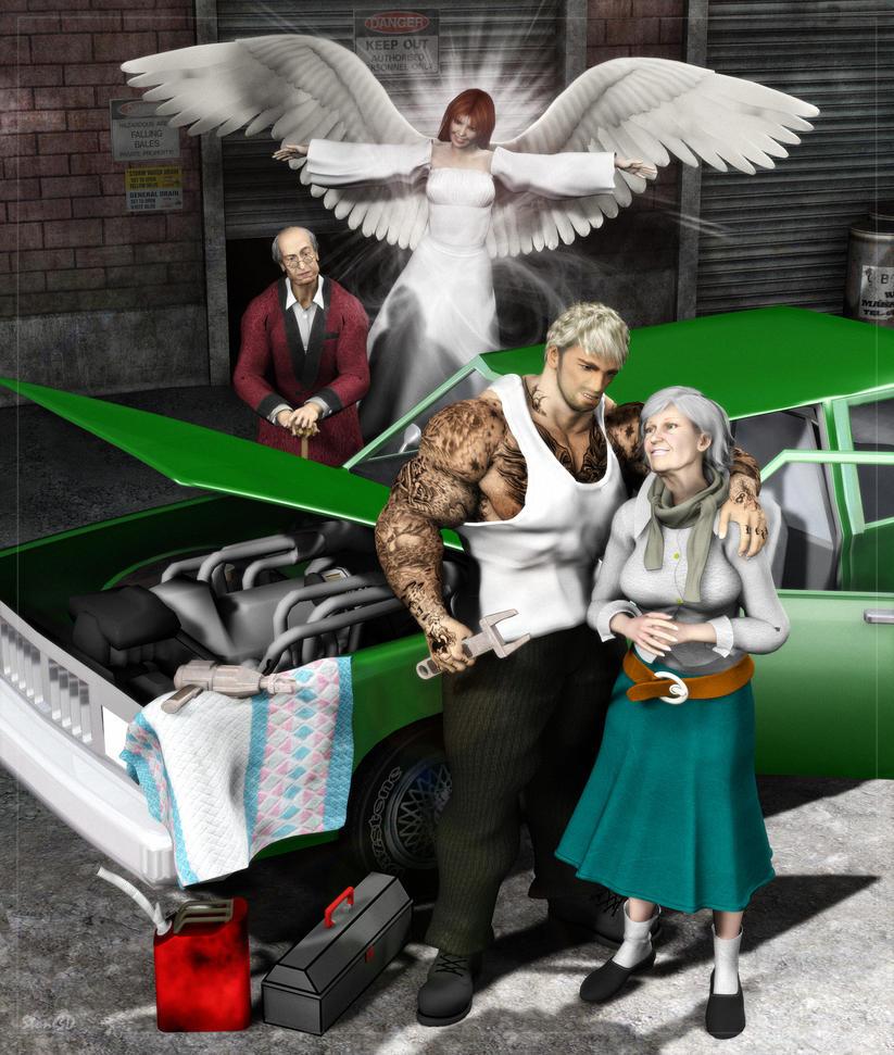 An Angel Falls Carol part 3 by atomskmaster6