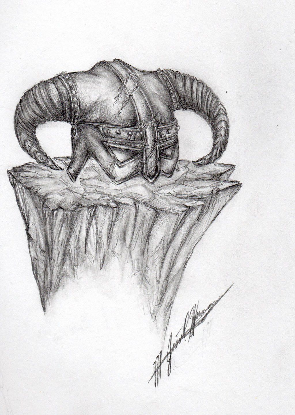above is skyrim drawing - photo #8