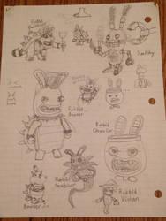 Mario + Rabbids Doodles 2 by Wobbmin