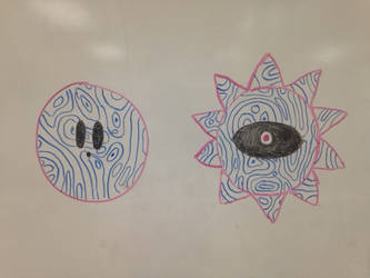 Void Termina Marker Doodles by Wobbmin