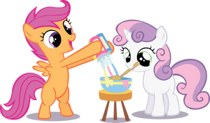 Scootaloo - Sweetie Belle