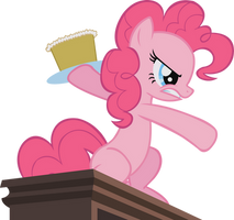 Pinkie - Cake Assault by midnite99