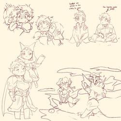 Doodles feos
