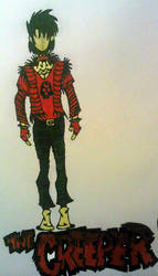 The Creeper ~Cosplay Concept Art~ by InsaneAsylum123