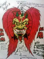 The Creeper ~Oni Mask Concept Art~ by InsaneAsylum123