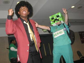 ADANAKC Part 3 Afro Lupin And Free Hugs Creeper by InsaneAsylum123