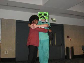 ADANAKC Part 4 Afro Lupin And Free-Hugs Creeper by InsaneAsylum123