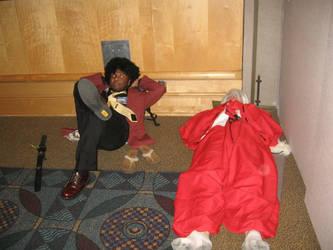 ADANAKC Part 8 Afro Lupin And Inuyasha by InsaneAsylum123
