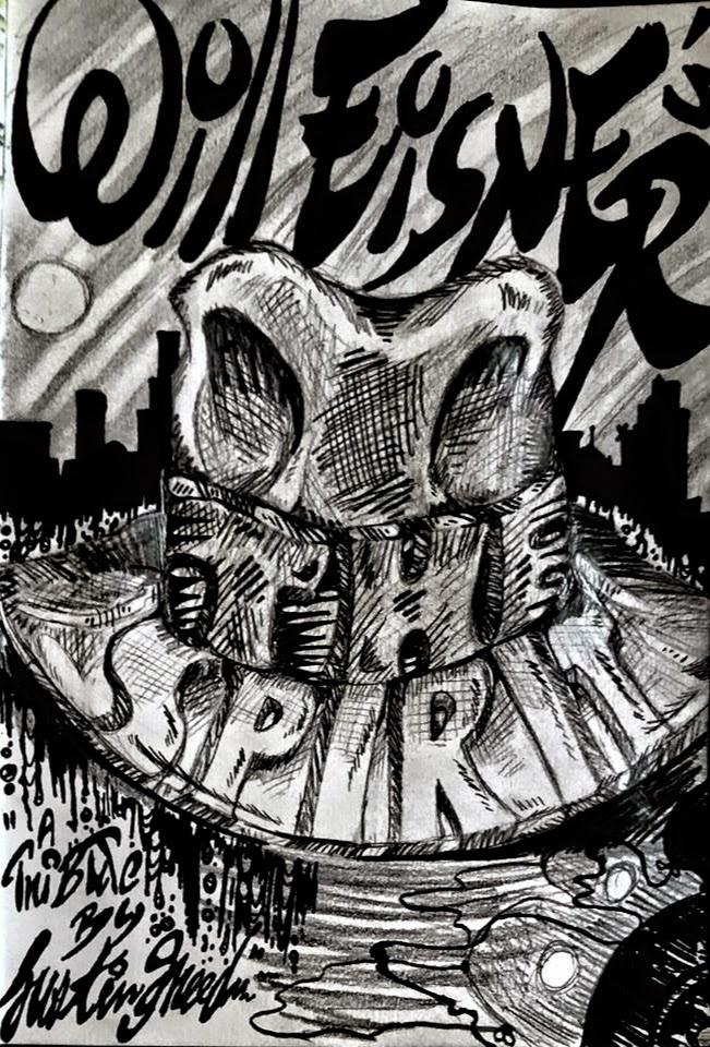 Will Eisner's The Spirit: A Homage by InsaneAsylum123