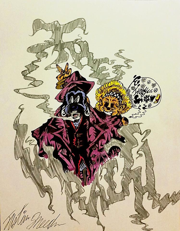 Michael T. Gilbert's The Wraith by InsaneAsylum123