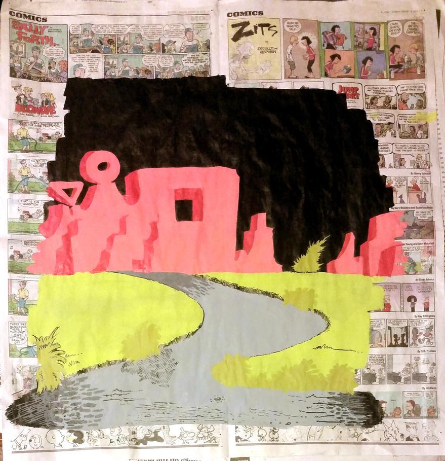 George Herriman's Coconino Country by InsaneAsylum123