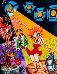 John K./Tex Avery: Nighty, Nightclub~ by InsaneAsylum123