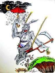 Frank The Hare~ by InsaneAsylum123