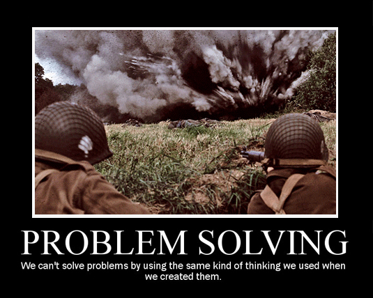 Problem Solving by nimroderriver