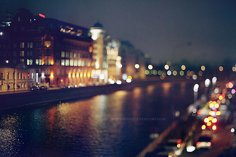 Moscow night walk 2 by Muffinka013