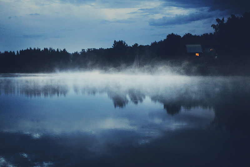 Fog On the Lake by Muffinka013