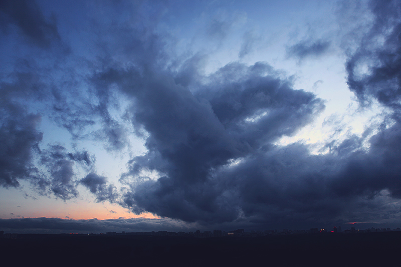 Cotton Candy Evening Sky by Muffinka013