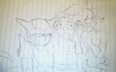 Draw the squad 9: first meetings by Asguardiansilver