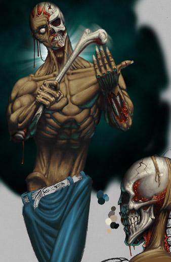 Character Design Zombie : Character design zombie by mx on deviantart