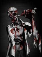 Bloody Zombie 3 by mx