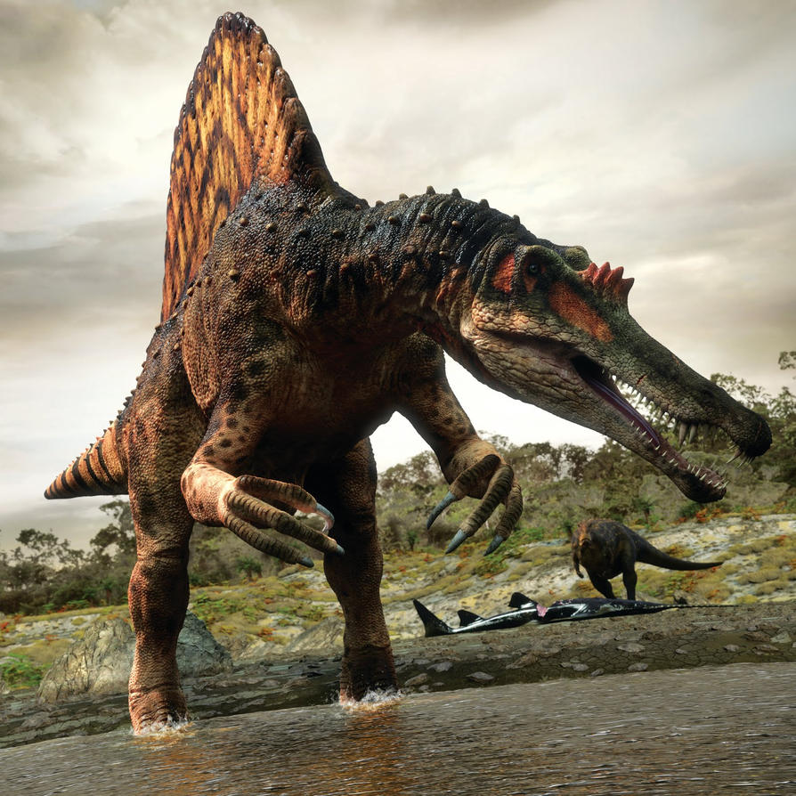Planet Dinosaur - Spinosaurus by mx