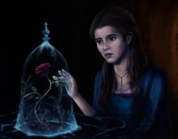 Emma Watson as Belle by Skeetersaid