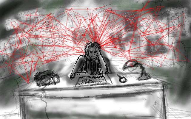 Noir Sketch 02 by WinterWomen