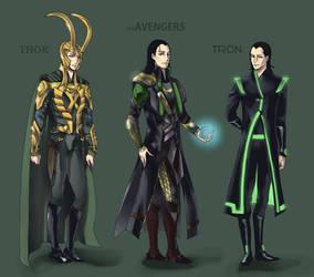 Loki Outfits